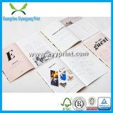 Promotion visuelle de brochure de brochure de modèle bon marché d'impression