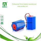 paquete cilíndrico recargable de la batería del ion del litio de 14.8V 7800mAh para el agua Anlayzier