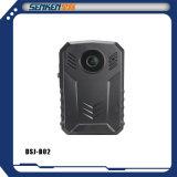GPS. BuidののSenkenの警察ボディ保安用カメラの夜間視界、