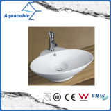 Bassin en céramique d'art de Module et premier bassin de lavage des mains de vanité (ACB8029)
