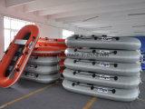 Liya barco de pesca pequeno inflável do barco de pá de 2.2m a de 2.8m