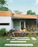 統合された折る貯蔵容器の家(容器の小屋)