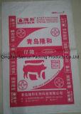 Plastik gesponnener Beutel für verpackenzufuhr