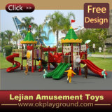 CE Plastic Highquality Children Outdoor Playground para School (12104A)