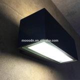 Negro moderno de aluminio fundido a prueba de explosiones caja impermeable IP65 COB 10W LED de la lámpara de pared para baño y Pasaje