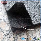 Sbs änderte Bitumen-Wurzel-beständige wasserdichte Membrane mit kupfernem Blatt
