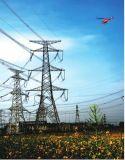 Torre de acero de la transmisión del ángulo de la energía eléctrica 132kv