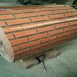 Le double colore la brique rouge PPGI pour faire la toiture ondulée