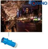 Штепсельная вилка 3p 4p 5p IEC Cee промышленная (QX3)