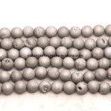 반 보석 자연적인 수정같은 Drusy Geode 구슬로 만드는 보석