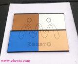 De zilveren Rechthoekig/Ovale Spiegel van de Badkamers/Vierkant/Ronde/Cirkel