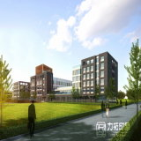 Wiedergabe-Abbildungen des Umweltschutz Industrical Park-Plan-3D