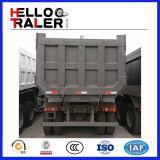 HOWO 6X4 유로 II 251-450HP 왼손 드라이브 팁 주는 사람 덤프 트럭