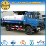 6 wielen de Vrachtwagen van de Tanker van het Water van 8000 L met de Vrachtwagen van de Lading van de Kraan en van de Lading voor Verkoop