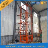 Levage hydraulique vertical neuf de longeron de guide de levage de 2016 marchandises de modèle