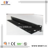 1u 19 Inch Brush Panel mit Back Cabling Panel