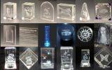 Cortadora de acrílico del nuevo del diseño del laser jade cristalino del cortador