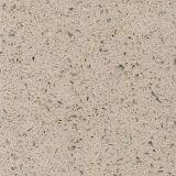 Surface beige de pierre de quartz de partie supérieure du comptoir de cuisine de la galaxie KF-041