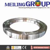 A fabricação da construção de aço forjou o anel