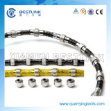 Diamante Saw Wire per Granite e Marble Quarrying