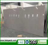 De grijze Kunstmatige Plak van de Steen van het Kwarts voor Verkoop