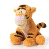 연약한 장난감 동물성 아이를 위한 호랑이에 의하여 채워지는 견면 벨벳 장난감
