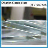 창 유리를 위한 2-19mm 낮은 철 유리제 강화 유리