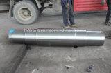 Forja forjada del acero de aleación del eje de la depresión del cuadrado del acero de carbón