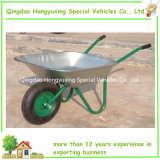 Galvanizar o Wheelbarrow da bandeja para o mercado do russo (WB6204)
