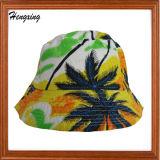 ロゴの点検されたバケツの帽子のバケツの帽子