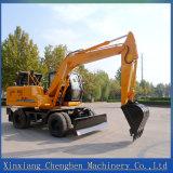 Grande position d'excavatrice de haute performance avec importer les pièces hydrauliques