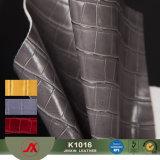 Nuovo elastico di modo il cuoio del reticolo di Crocdile del Faux del PVC più popolare per le borse