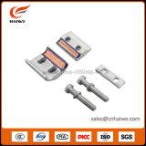 Bride parallèle bimétallique de cuivre en aluminium de page de cannelure de série d'APG