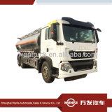 Sinottruk HOWO T5g 6X4 알루미늄 연료 유조 트럭