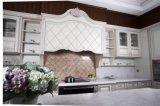 Armadio da cucina 2016 di verniciatura del caffè di legno solido dell'acero di Welbom progettato