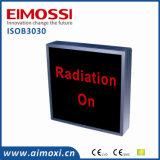 Signe en service de méthode de commutateur du rayon X DEL