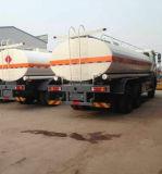 8000gallon 20000L 20m3 Beiben 또는 북쪽 벤츠 연료 탱크 트럭 석유 탱크 트럭