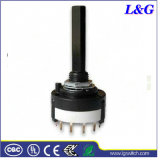 Mini 2-12 Position Rotary Switch ( RS26 )