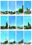 Illuminazione di risparmio del giardino del dissipatore di calore LED di Graphene di energia di 70%