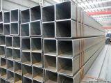 Tubo de acero cuadrado galvanizado, tubo de acero