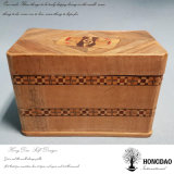 Hongdao 공장 가격 주문 로고 뚜껑 _E를 미끄러지기를 가진 Tarot 부지깽이 카드를 위한 호화스러운 나무로 되는 선물 상자