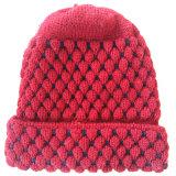 選びなさい空のジャカードによって縞で飾られるアクリルのスポーツの袖口の傾向の帽子の帽子(S-1060)を