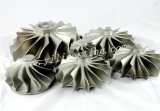 Het Wiel van de Turbine van de turbocompressor voor de Delen van de Turbine van het Gas