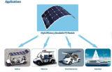 Pile solaire de Sunpower, panneau solaire 100W