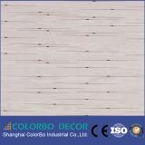 Écran antibruit de bois de construction en bois décoratif de mur