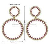 新しいデザイン女性(KE3113)のためのハングのイヤリング党宝石類