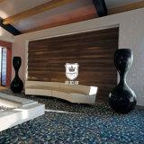 Painel de parede de madeira personalizado do folheado do Rosewood para o hotel