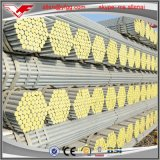 tubo d'acciaio rotondo di buon Gi di prezzi 200-500G/M2