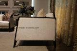 Sofá de tecido de três assentos para casa usado