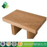 ホテルの居間のための簡単な様式の純木のコーヒーテーブル